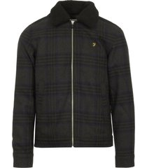 farah grey marl otley jacket f4rf70p2-043