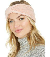 koolaburra by ugg knit and faux-shearling headband