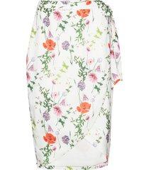 camiila knälång kjol vit ted baker