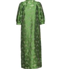 celestina long dress 12939 maxiklänning festklänning grön samsøe samsøe