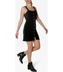 ultra flirt juniors' corduroy dress