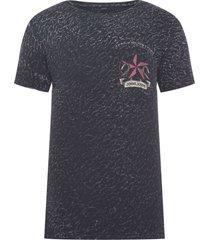 t-shirt masculina rg heaven soldier black - preto
