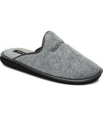 felt slipper slippers tofflor grå hush puppies