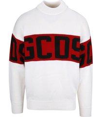 gcds band logo sweatshirt