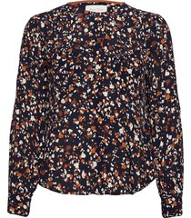eireenpw sh blouse lange mouwen blauw part two
