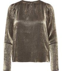blouse blouse lange mouwen zilver sofie schnoor