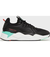 puma rs-x master sneakers black/white