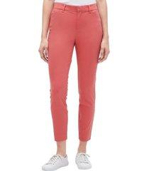 pantalon skinny ankle rosa gap