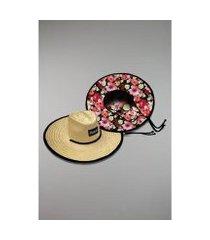 chapéu kouk authentic de palha primavera
