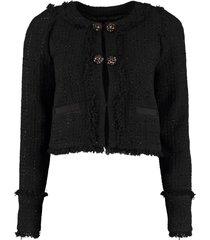 pinko scucire tweed jacket