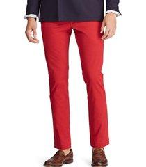 pantalon stretch slim fit cotton rojo polo ralph lauren