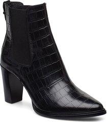 boots 7792 shoes boots ankle boots ankle boots with heel svart billi bi