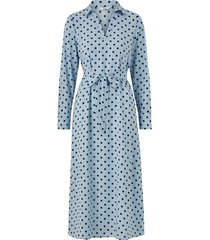 klänning onlnita l/s midi shirt dress