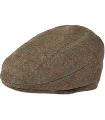 yorkshire driving cap, dark olive, 7 1/2