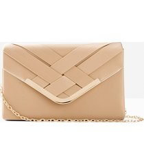 pochette con intrecci (beige) - bpc bonprix collection