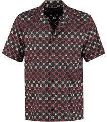 dolce & gabbana all-over polka dot shirt