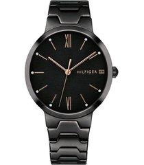 reloj tommy hilfiger 1781960 negro -superbrands
