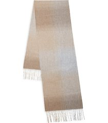 ombré cashmere scarf