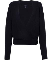 blusa rosa chá reis 2 tricot preto feminina (black, gg)