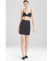 natori affair half slip bodysuit, women's, black, size xl natori