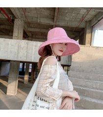 sombrero de sol para mujer verano pescador sombrero y gorra para el sol