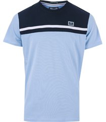 weekend offender mens black dolphin panel t-shirt size 2xl in blue