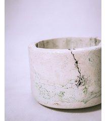 biała doniczka scagliola henryk pierwszy 10 cm