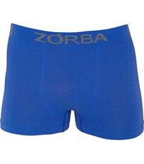 cueca zorba boxer extreme trendy 838 - azul royal - zorba