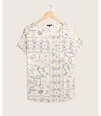 blusa estampada marinero