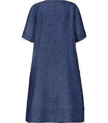 jurk met 3/4-mouwen van anna aura blauw