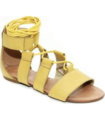 sandália top franca shoes gladiadora - feminino