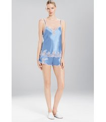 lolita tap pants pajamas, women's, white, 100% silk, size m, josie natori