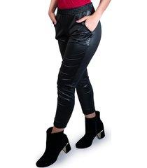 calça jogger cirre mvb modas disco hot pants preta