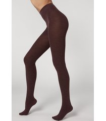 calzedonia soft modal and cashmere blend tights woman multicolor size xl