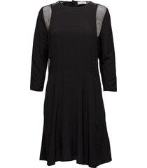 bahja jurk knielengte zwart custommade