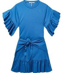 jurk blauw