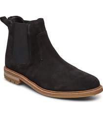 foxwell top shoes chelsea boots zwart clarks