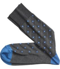 johnston & murphy floating diamond pattern socks