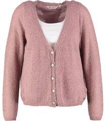 garcia vest soft rose met deel blouse rug