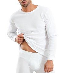camiseta algodón panal blanco baziano