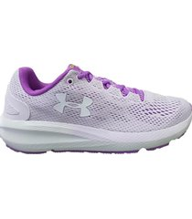 zapatilla lila under armour charged pursuit 2
