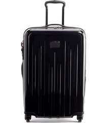 men's tumi v4 collection 26-inch expandable spinner packing case - black