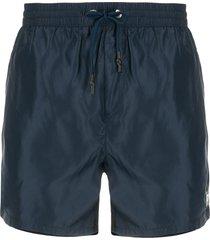 diesel chino-style swim shorts - blue