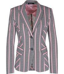 blazer van jersey roze