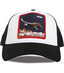 gorra blanca trown headware high