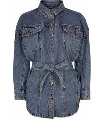 co'couture spijkerblouse jas blauw