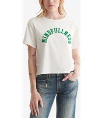 lucky brand cotton mindfullness graphic t-shirt