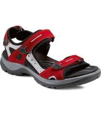 offroad shoes summer shoes flat sandals svart ecco