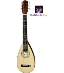 hora travel guitar steel string backpacker acoustic guitar with gig bag