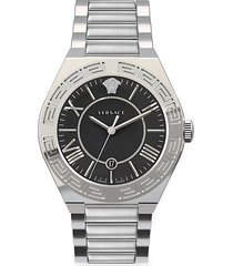 new landmark gent stainless steel bracelet watch